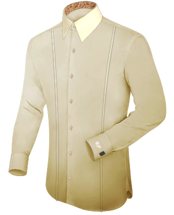 Dansaert Overhemd with French Collar 1 Button