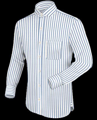 Design Hemden with Italian Collar 2 Button