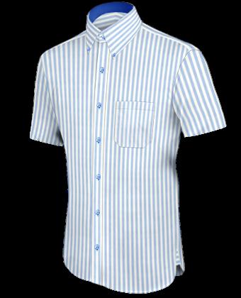 Drieknoops Overhemden with Button Down