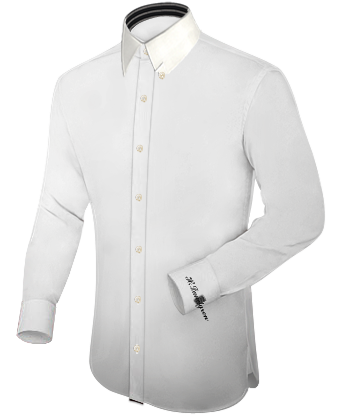 Extra Lange Shirts with Hidden Button