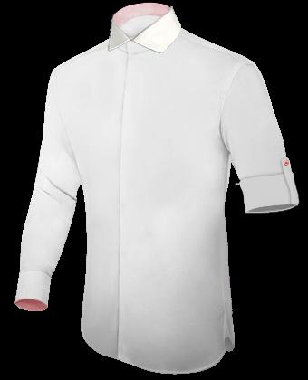 Fabrikanten Van Maatkleding with Italian Collar 1 Button