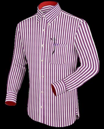 Getailleerde Overhemden Maat 46 with Button Down