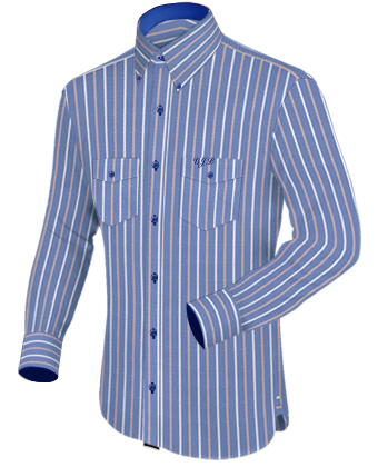 Goedkope Maathemden with Button Down