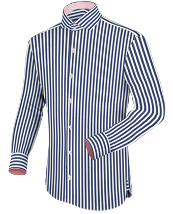 Design Own Shirt with Italian Collar 2 Button