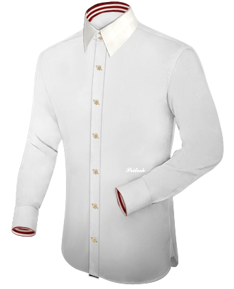 Design Your Own Clothes Online with French Collar 2 Button