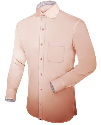 Groen Overhemd with English Collar