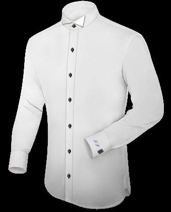 Groen Heren Overhemd with Tuxedo