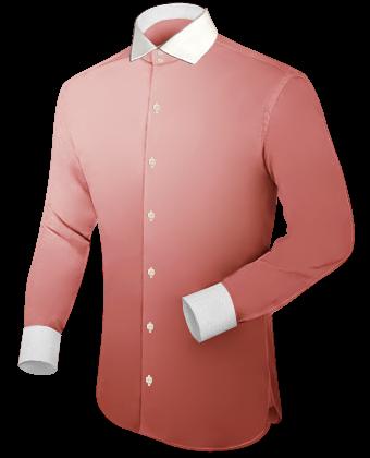 Groene Hemd with Italian Collar 2 Button
