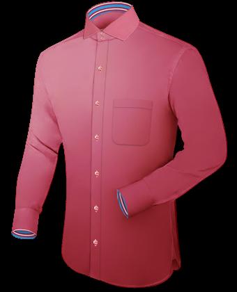 Grote Maten Hemden Limburg with Italian Collar 2 Button