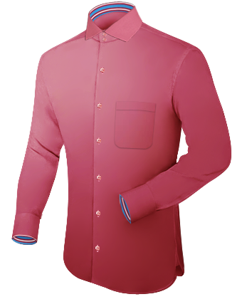 Grote Maten Overhemd with Italian Collar 2 Button