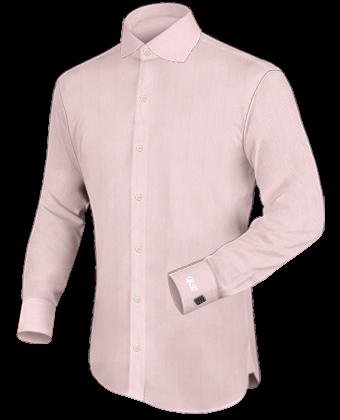Getailleerd Overhemd with English Collar