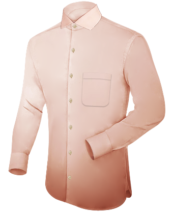 Overhemd Creme.Heren Creme Overhemd