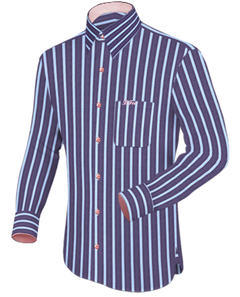 Grote Maten Mode Online with French Collar 1 Button