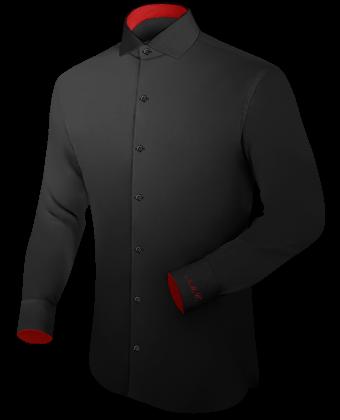 Grote Maten Online Bestellen with Italian Collar 1 Button
