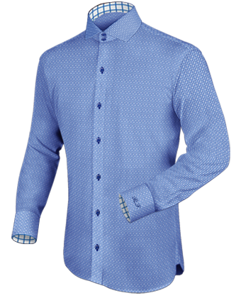 Italiaanse Kraag with Italian Collar 2 Button