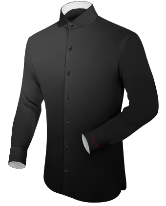 Kraag with Italian Collar 1 Button