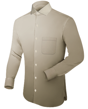 Nachtkleding Grote Maten with Italian Collar 1 Button
