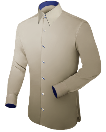 Grote Maten with French Collar 2 Button