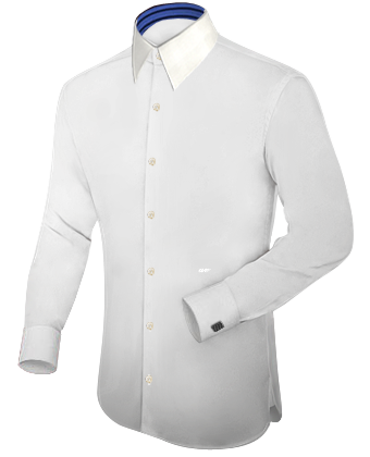 Grote Maten Groningen with French Collar 1 Button