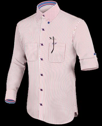 Maattabel Overhemd with Hidden Button