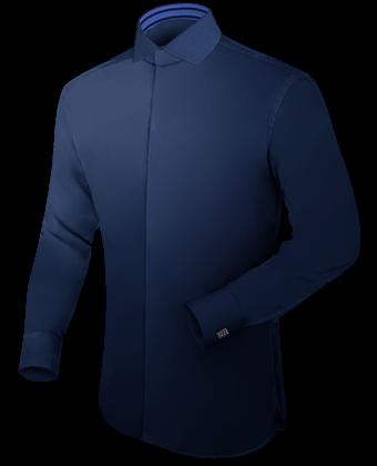 Grote Maten Nl with Italian Collar 1 Button