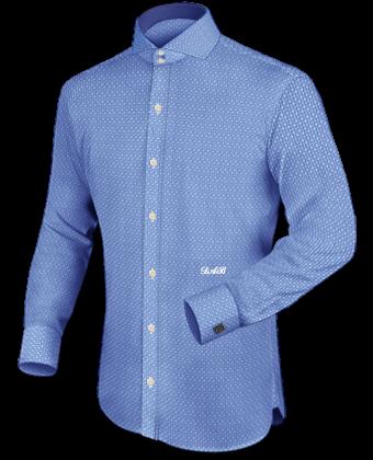 Overhemden Heren Online with Cut Away 2 Button