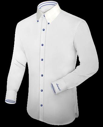 Mannen Blouse Of Overhemd.Zwart Satijn Overhemd Voor Mannen
