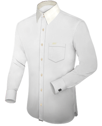 Online Kleding Kopen with French Collar 2 Button