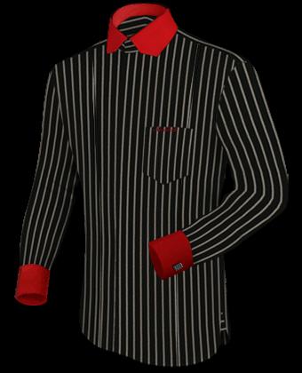 Mass Hemden with Modern Collar