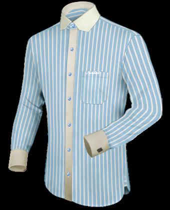 Maten Overhemden with Modern Collar