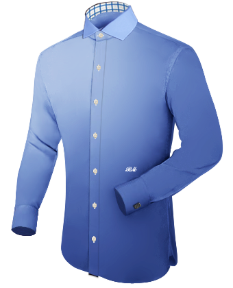 Mens Shirt Sizes with Italian Collar 1 Button