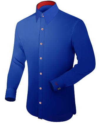 Menswear with French Collar 2 Button