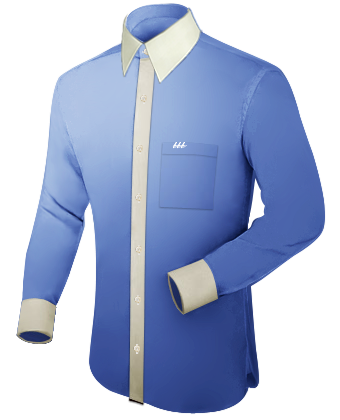 Herenhemden with French Collar 1 Button