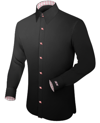 Herenmode Online with French Collar 2 Button