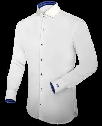 Hippe Overhemden with Italian Collar 2 Button