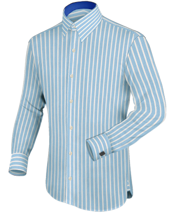 Kostuums Grote Maten with French Collar 1 Button