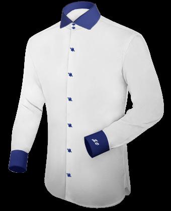 Maat Overhemden with Italian Collar 2 Button