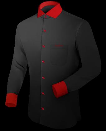 Maatoverhemden Heren with Italian Collar 2 Button