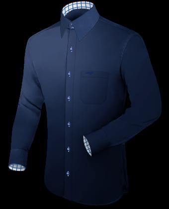 Maattabel Overhemden with French Collar 2 Button