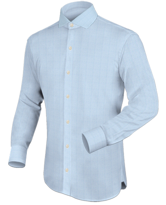 Damesoverhemden with Italian Collar 1 Button