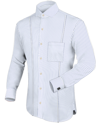 Groothandel Grote Maten with Italian Collar 1 Button