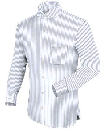 New Shirt Designs with Italian Collar 1 Button