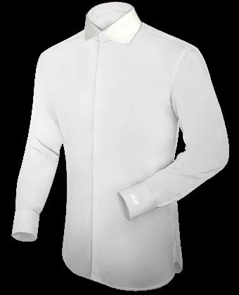 Online Overhemden Kopen with English Collar