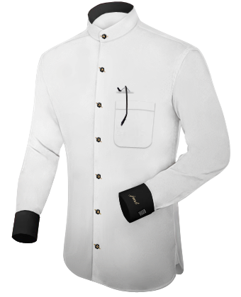 Overhemd Boord with French Collar 1 Button