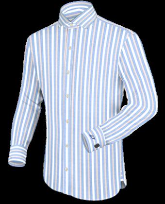 Overhemd Lange Mouw with Italian Collar 1 Button