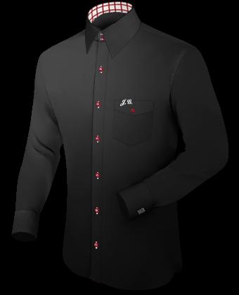 Overhemd Manchetknopen with English Collar