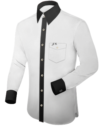 Overhemd Maten with French Collar 2 Button