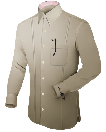 Overhemd Op Maat with French Collar 2 Button