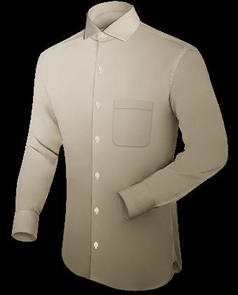 Overhemden Op Maat Maken with Italian Collar 1 Button