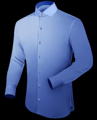 Custom Shirt with Italian Collar 2 Button